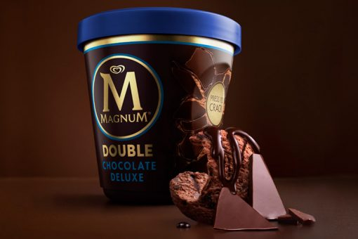 Magnum Tarrina Double Chocolate Deluxe (440ml) 1