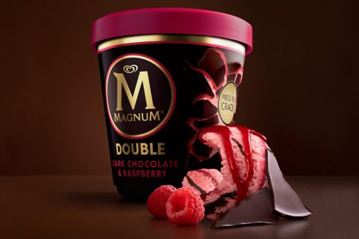 Magnum Tarrina Double Chocolate & Raspberry (440ml) 1